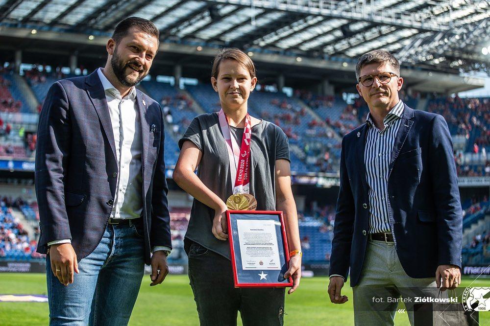 Dziękuję @wislakrakowsa za powitanie i zaproszenie na wczorajszy mecz