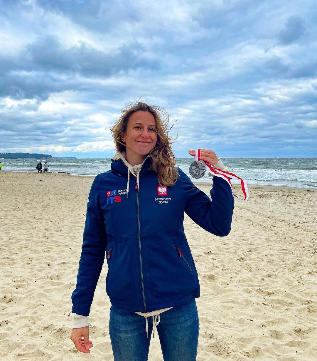 Silver medal IQFoil Polish Championship